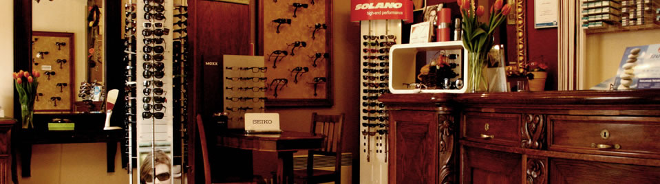 Our optician in Pszczyna interior