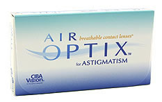 Air Optix for Astigmatism - 3 lenses