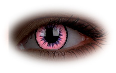 ColourVue Glow Pink Jubilee Contact Lenses