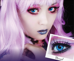 ColourVue Crazy Blizzard contacts