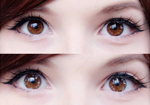 ColourVue Star and Jewel Silver Star contact lenses