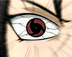 Mangekyou contact lenses - Naruto