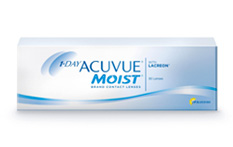 1 Day Acuvue Moist Contact lenses