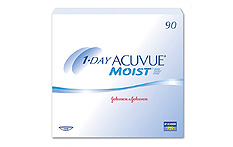 1 Day Acuvue Moist Contact lenses - 90 lenses
