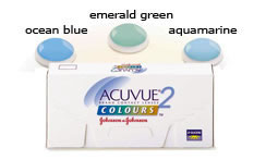 Acuvue 2 Colours Emerald Green Contact lenses