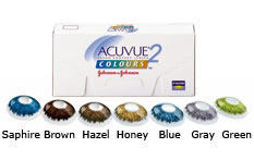 Acuvue 2 Colours Sapphire Blue Contact lenses