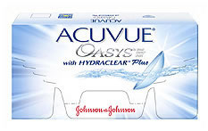 Acuvue Oasys Contact lenses - 3 lenses