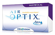 Air Optix Aqua Multifocal Contact Lenses - 6 lenses