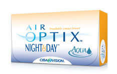 Air Optix Night and Day Aqua Contact lenses - 6 lenses