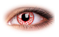 ColourVue Blood Shot Colored Contact Lenses
