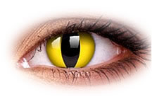 ColourVue Crazy Cat Eyes Contact Lenses