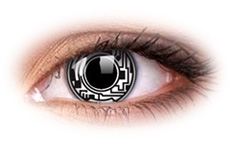 ColourVue Crazy Cyborg Contact Lenses