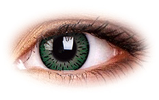 ColourVue Elegance Green Contact Lenses