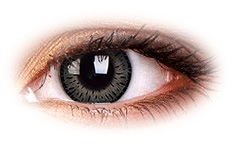 ColourVue Elegance Grey Contact Lenses