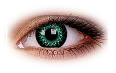 ColourVue Eyelush Green Contact Lenses
