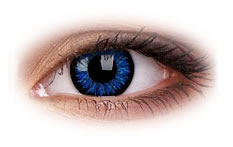 ColourVue Glamour Blue Contact Lenses