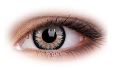 ColourVue Glamour Grey Contact Lenses