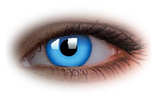 ColourVue Glow Blue Contact Lenses