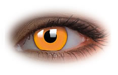 ColourVue Glow Orange Contact Lenses