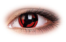 ColourVue Kakashi Colored Contact Lenses