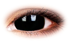ColourVue Mini Sclera Black Titan 17mm Contact Lenses