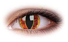 ColourVue Saurons Eye Colored Contact Lenses