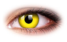 ColourVue Yellow Colored Contact Lenses