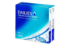 Dailies AquaComfort Plus Contact lenses - 180 lenses