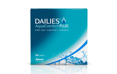 Dailies AquaComfort Plus Contact lenses - 90 lenses