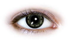 Neo Cosmo - Swirly Green Contact Lenses (N502)
