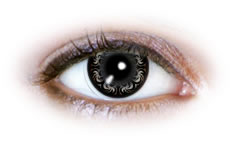 Neo Cosmo - Swirly Grey Contact Lenses (N505)